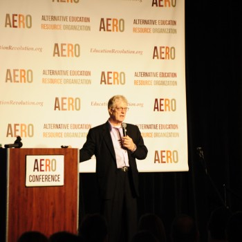 Sir Ken Robinson at AERO Conference