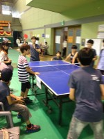 Ping pong players