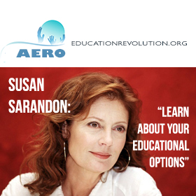 Susan Sarandon Supports Learner Centered Education